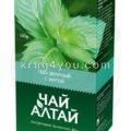 Чай Алтай зеленый с мятой