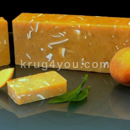 Мыло персик – масло абрикосовых косточек