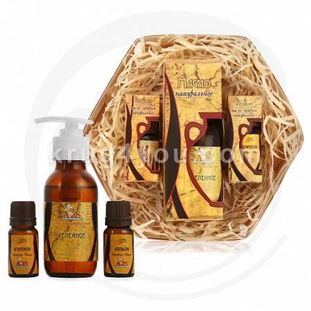 Набор натуральных масел Для укрепления и роста волос