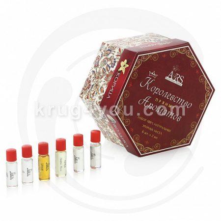 Набор Королевство ароматов Пряные включает эфирные масла: Аниса, Гвоздики, Корицы, Чабреца, Фенхеля, Хо.