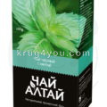 Чай Алтай черный с мятой
