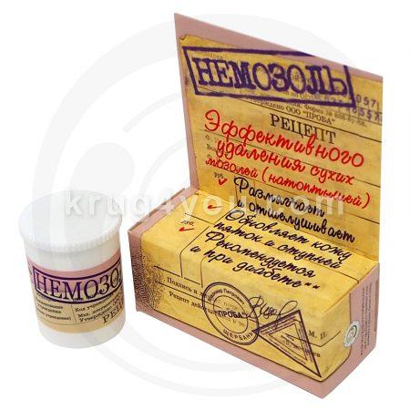 Косметическое средство Немозоль эффективно удаляет сухие мозоли (натоптыши), обновляет кожу пяток и ступней, рекомендуется и при диабете.