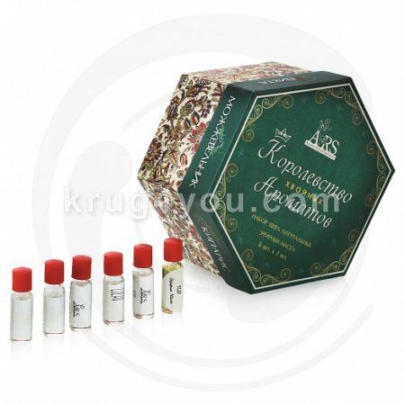 Набор Королевство ароматов Хвойные включает эфирные масла Ели, Кедра, Кипариса, Можжевельника, Пихты, Сосны.