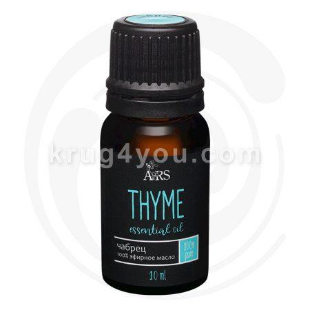 Эфирное масло чабреца гармонизирует, улучшает внимание и поднимает настроение. Способствует укреплению организма, нормализует сон.