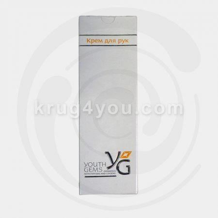 Крем для рук Youth Gems обеспечивает усиленное питание клеток кожи рук, способствует максимальному увлажнению кожи рук после использования моющих средств