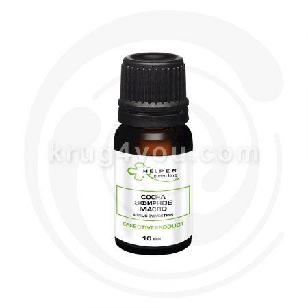 Сосна 100 % эфирное масло подходит для ухода за любым типом кожи, оказывая сильное тонизирующее действие, повышает эластичность и упругость.